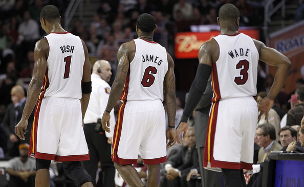 Dwyane Wade and LeBron James - Miami Heat v Cleveland Cavaliers