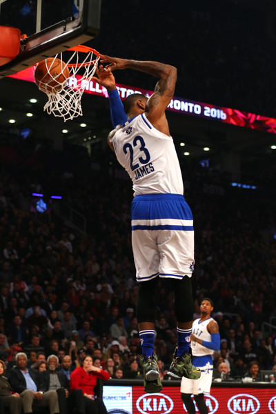 hot sale online 8dc10 8f87e LeBron James Photos Photos - NBA All-Star Game 2016 - Zimbio