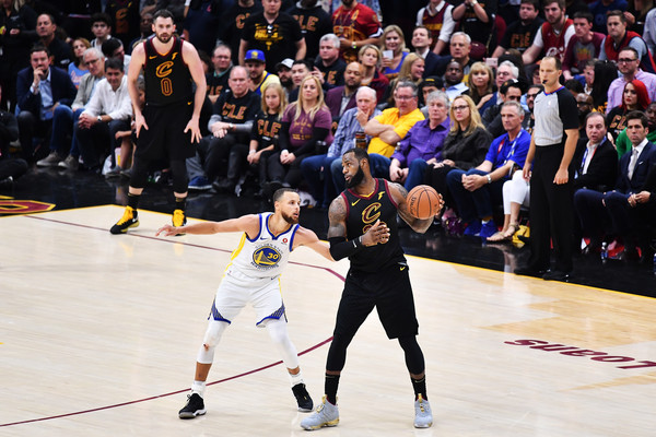 2018 NBA Finals - Game Three [basketball,tournament,sports,sport venue,competition event,championship,team sport,fun,sports equipment,footwear,lebron james,user,user,stephen curry,game,note,ball,nba,cleveland cavaliers,finals]