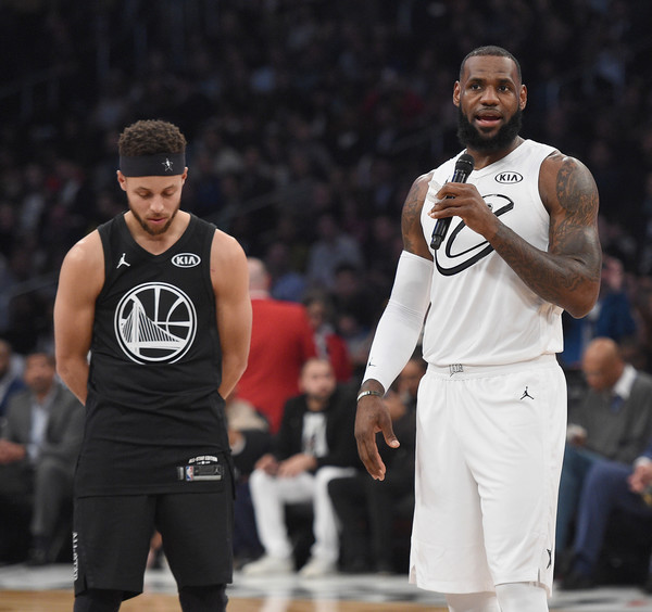 25818217f LeBron James and Stephen Curry Photos»Photostream · Pictures · NBA All-Star  Game 2018