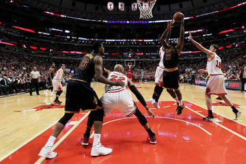LeBron James Cleveland Cavaliers v Chicago Bulls - Game Six
