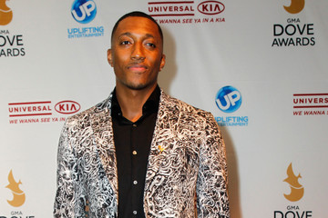 LeCrae Arrivals at the GMA Dove Awards