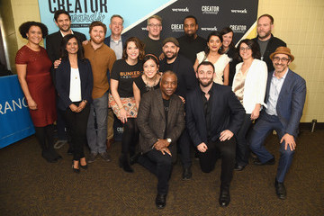 LeVar Burton WeWork Presents Creator Awards Global Finals at the Theater at Madison Square Garden - Arrivals