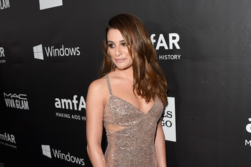 Lea Michele amfAR Inspiration Los Angeles 2014 - Red Carpet