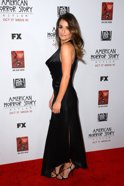 "Lea Michele - Premiere Screening Of FX's ""American Horror Story: Asylum"" - Arrivals"