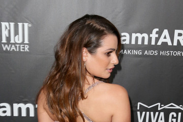 Lea Michele FIJI Water At amfAR's Inspiration LA Gala