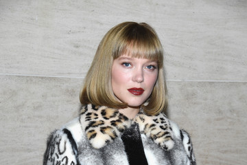 Lea Seydoux Louis Vuitton: Front Row - Paris Fashion Week Womenswear Spring/Summer 2018