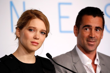 Lea Seydoux 'The Lobster' - Press Conference - The 68th Annual Cannes Film Festival