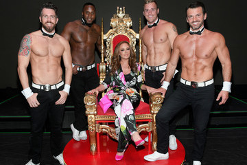 Leah Remini Leah Remini Attends Chippendales Starring Former Dance Partner Tony Dovolani At The Rio Hotel & Casino