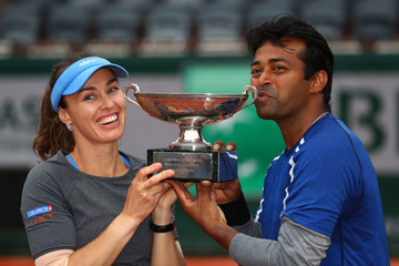 Leander Paes 2016 French Open - Day Thirteen