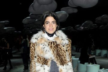 Leandra Medine Front Row at the Marc Jacobs Show