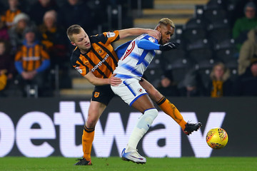 Leandro Bacuna Hull City v Reading - Sky Bet Championship