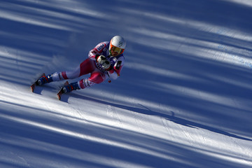 Leanne Smith Audi FIS Alpine Ski World Cup - Women's Downhill Training