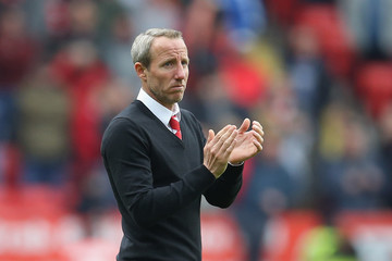 Lee Bowyer Charlton Athletic vs. Blackburn Rovers - Sky Bet League One