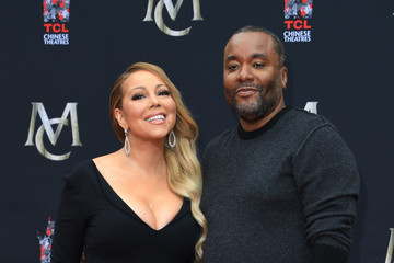 Lee Daniels Mariah Carey Hand and Footprint Ceremony