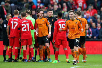 Lee Evans Liverpool v Wolverhampton Wanderers - The Emirates FA Cup Fourth Round