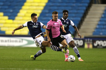Lee Martin Millwall v Northampton Town - Johnstone's Paint Trophy Second Round