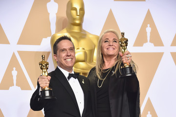 Lee Unkrich 90th Annual Academy Awards - Press Room