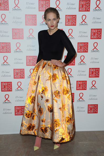Leelee Sobieski - Sidaction Gala Dinner 2013 - Photocall