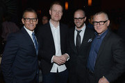 Michael Lombardo, Max Richter, Damon Lindelof and Tom Perrotta attend 'The Leftovers' premiere after party at TAO on June 23, 2014 in New York City.