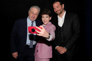 (L-R) Robert De Niro, Joshua Rush, and Bradley Cooper take a selfie during A Legacy Of Changing Lives presented by the Fulfillment Fund at The Ray Dolby Ballroom at Hollywood & Highland Center on March 13, 2018 in Hollywood, California.