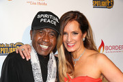 Actor Ben Vereen (L) and motivational speaker Lisa Haisha attend the Legacy Series Launch Party at Sofitel Hotel on November 20, 2014 in Los Angeles, California.