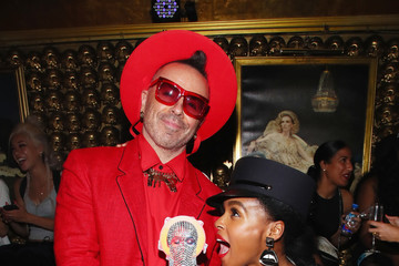Legendary Damon Janelle Monae Celebrates 'Dirty Computer' Tour After-Party With Belvedere Vodka At GoldBar