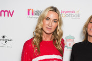 Meg Matthews attends the Legends of Football fundraiser at The Grosvenor House Hotel on October 2, 2017 in London, England. The annual football-themed event is held in aid of Nordoff-Robins Music Therapy.