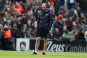 Geordan Murphy the Leicester Tigers interim head coach looks on during the Gallagher Premiership Rugby match between Leicester Tigers and Sale Sharks at Welford Road Stadium on September 30, 2018 in Leicester, United Kingdom.