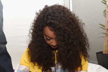Leigh-Anne Pinnock 2017 Daytime Village Presented by Capital One at the iHeartRadio Music Festival - Backstage