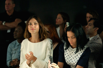 Leigh Lezark Alexa Chung Noon By Noor - Front Row - Spring 2016 New York Fashion Week: The Shows