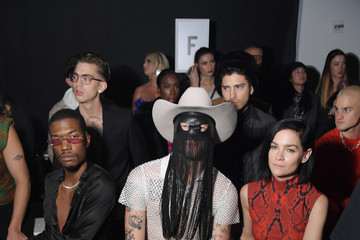Leigh Lezark Christian Cowan Fall/Winter 2020 NYFW Show - Front Row