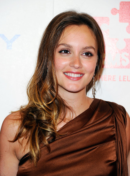 Leighton Meester DKMS 39s 5th Annual Gala leighton meester siblings