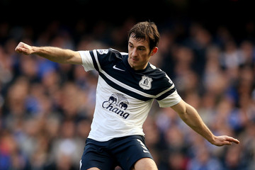 Leighton Baines Chelsea v Everton - Premier League