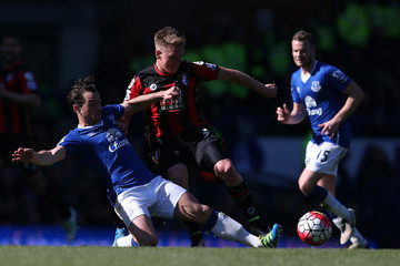 Leighton Baines Everton v A.F.C. Bournemouth - Premier League