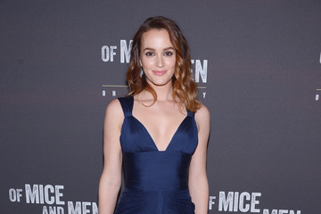 Leighton Meester 'Of Mice and Men' Afterparty in NYC