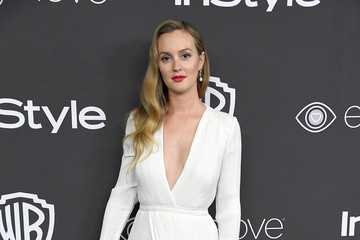Leighton Meester Warner Bros. Pictures and InStyle Host 18th Annual Post-Golden Globes Party - Arrivals