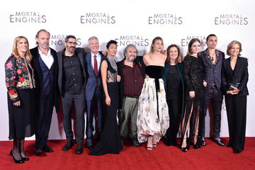 Leila George World Premiere Of 'Mortal Engines'
