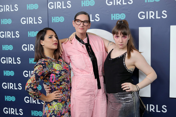 The New York Premiere of the Sixth and Final Season of 'Girls' - Red Carpet
