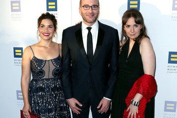 Lena Dunham Human Rights Campaign's 2017 Los Angeles Gala Dinner - Arrivals