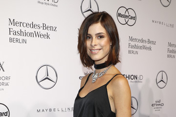 Lena Meyer-Landrut 'Designer for Tomorrow' Arrivals - Mercedes-Benz Fashion Week Berlin Spring/Summer 2017