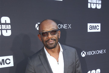 Lennie James 'The Walking Dead' 100th Premiere and Party