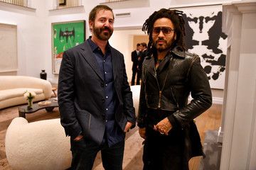 Lenny Kravitz Annual Artists' Dinner - ICA, W, And Surface