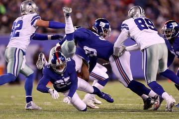 Leon Hall Dallas Cowboys v New York Giants