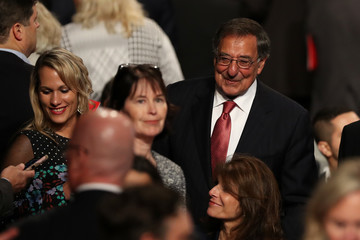 Leon Panetta Final Presidential Debate Between Hillary Clinton and Donald Trump Held in Las Vegas