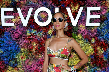 Leona Lewis REVOLVE Desert House at Coachella With Moet & Chandon - Day 1
