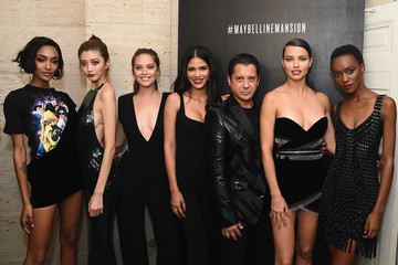 Leonardo Chavez Herieth Paul An Evening at the Maybelline Mansion Presented by V