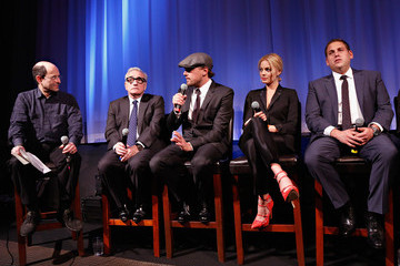 Leonardo DiCaprio Martin Scorsese 'The Wolf of Wall Street' Screening in NYC