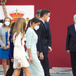 Leonor Spanish Royals Attend The National Day Military Parade