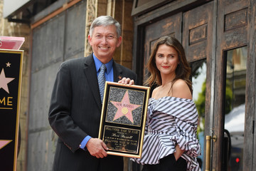 Leron Gubler Keri Russell Honored with a Star on the Hollywood Walk of Fame